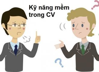 Các kỹ năng mềm trong CV có quan trọng không và bao gồm những gì?